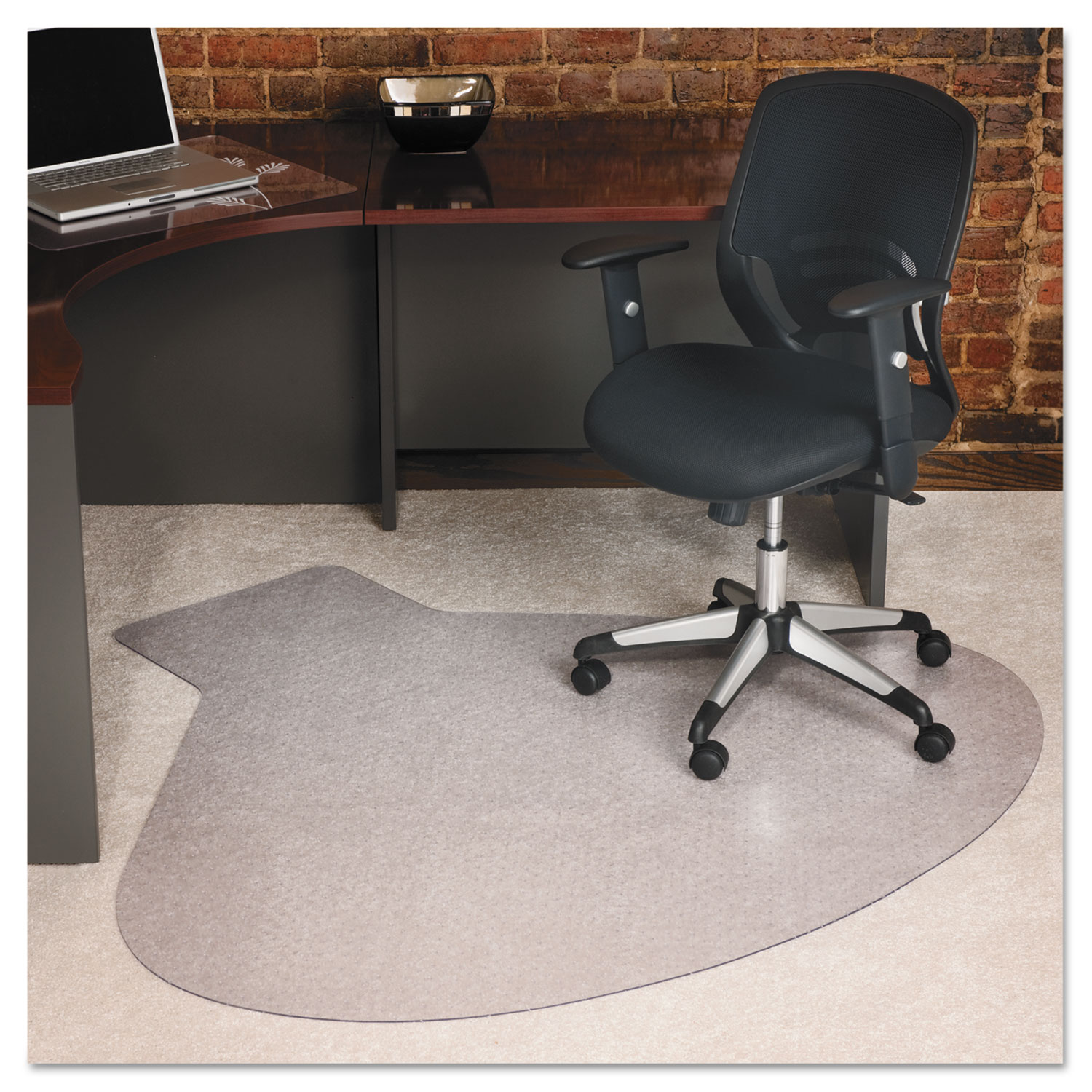 EverLife Chair Mats For Medium Pile Carpet by ES Robbins® ESR122775 ...