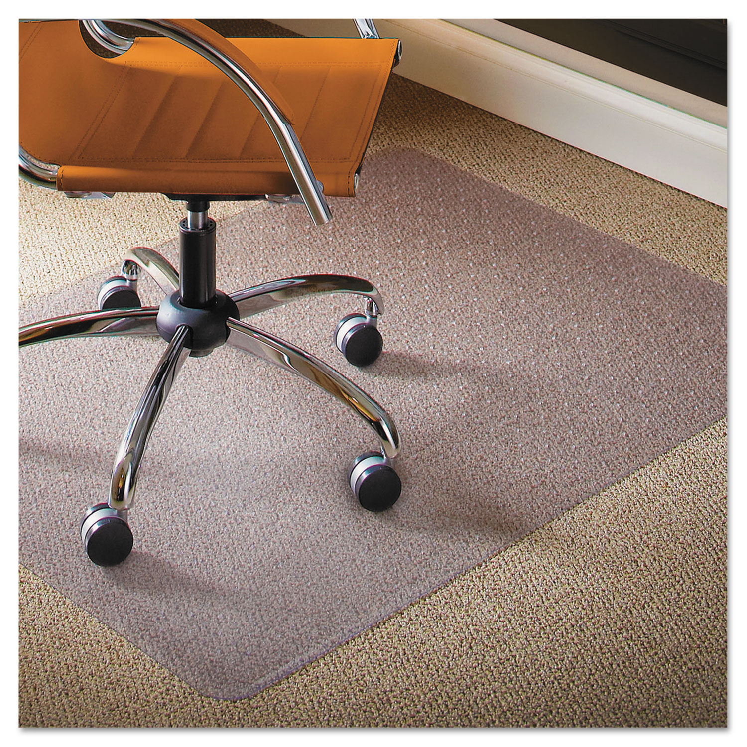 natural origins chair mat for carpet by es robbinsa esr141028