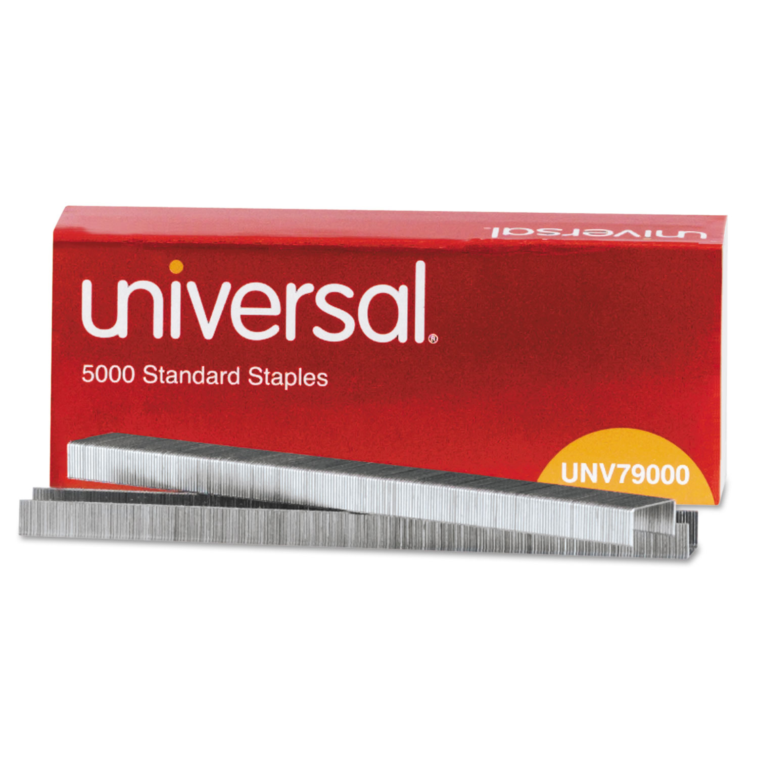Standard Chisel Point 210 Strip Count Staples by Universal® UNV79000 ...