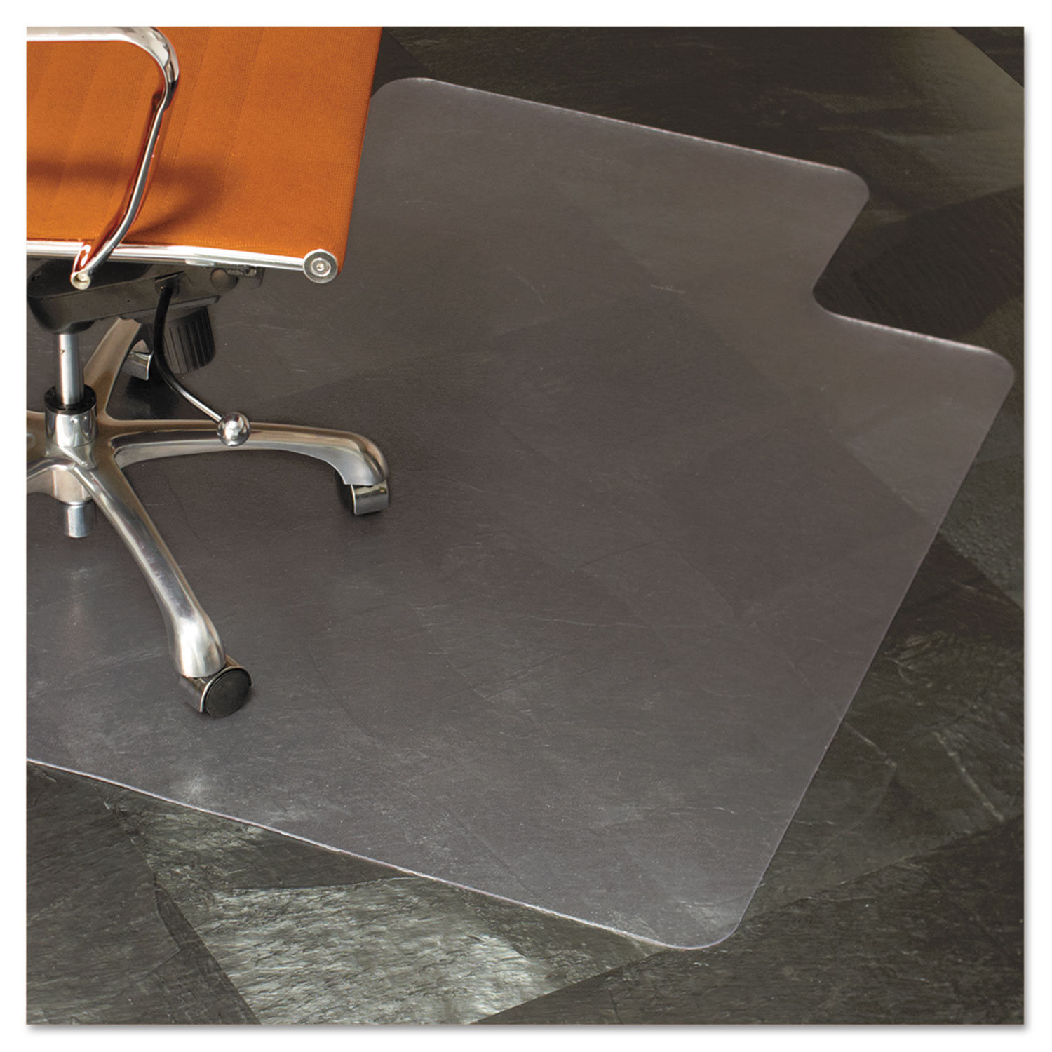 natural origins chair mat with lip for hard floors by es robbins