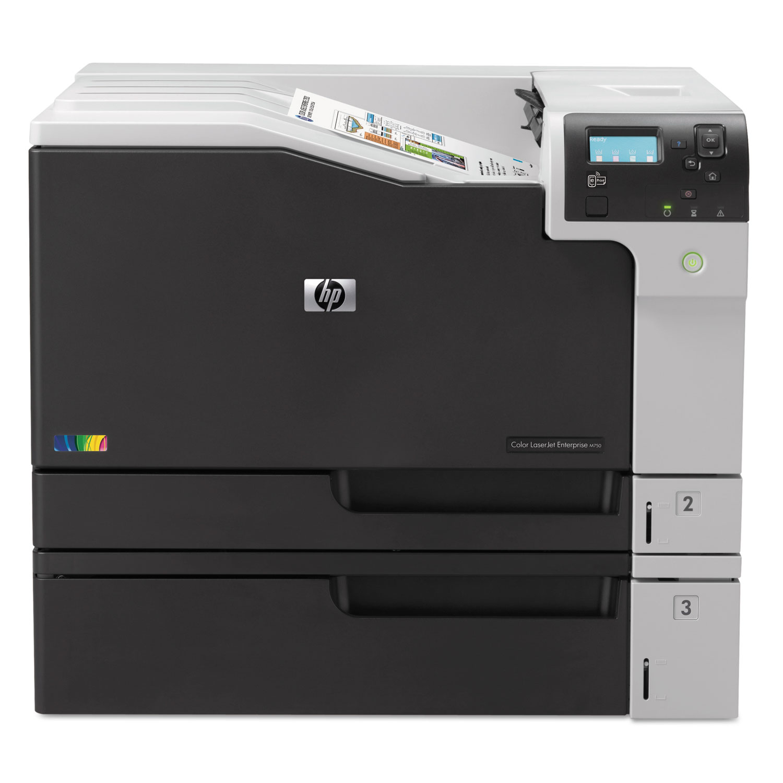 Color LaserJet Enterprise M750n Laser Printer