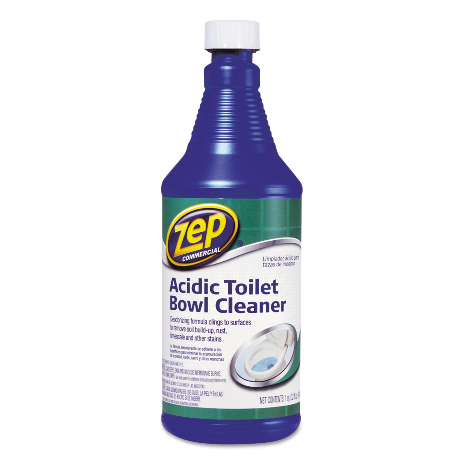 Acidic Toilet Bowl Cleaner By Zep Commercial 174 Zpe1046423