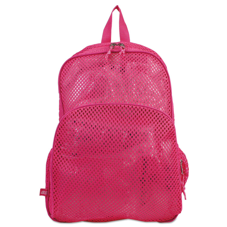 Mesh Backpack, 12 x 5 x 18, Pink