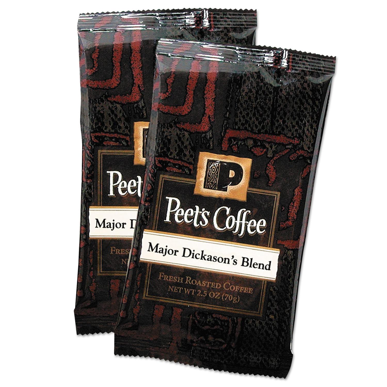 Coffee Portion Packs, Major Dickason's Blend, 2.5 oz Frack Pack, 18/Box