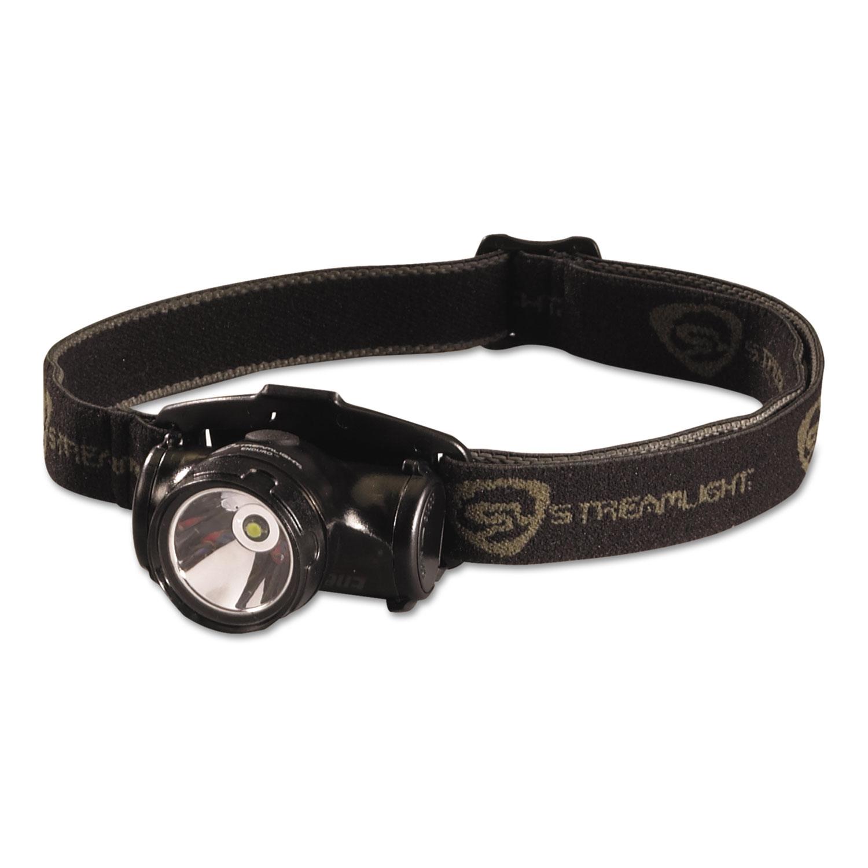 Enduro LED Headlamp, 2 AAA Batteries (Included), Black