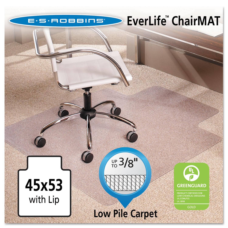 Esr128173 Es Robbins 45x53 Lip Chair Mat Zuma