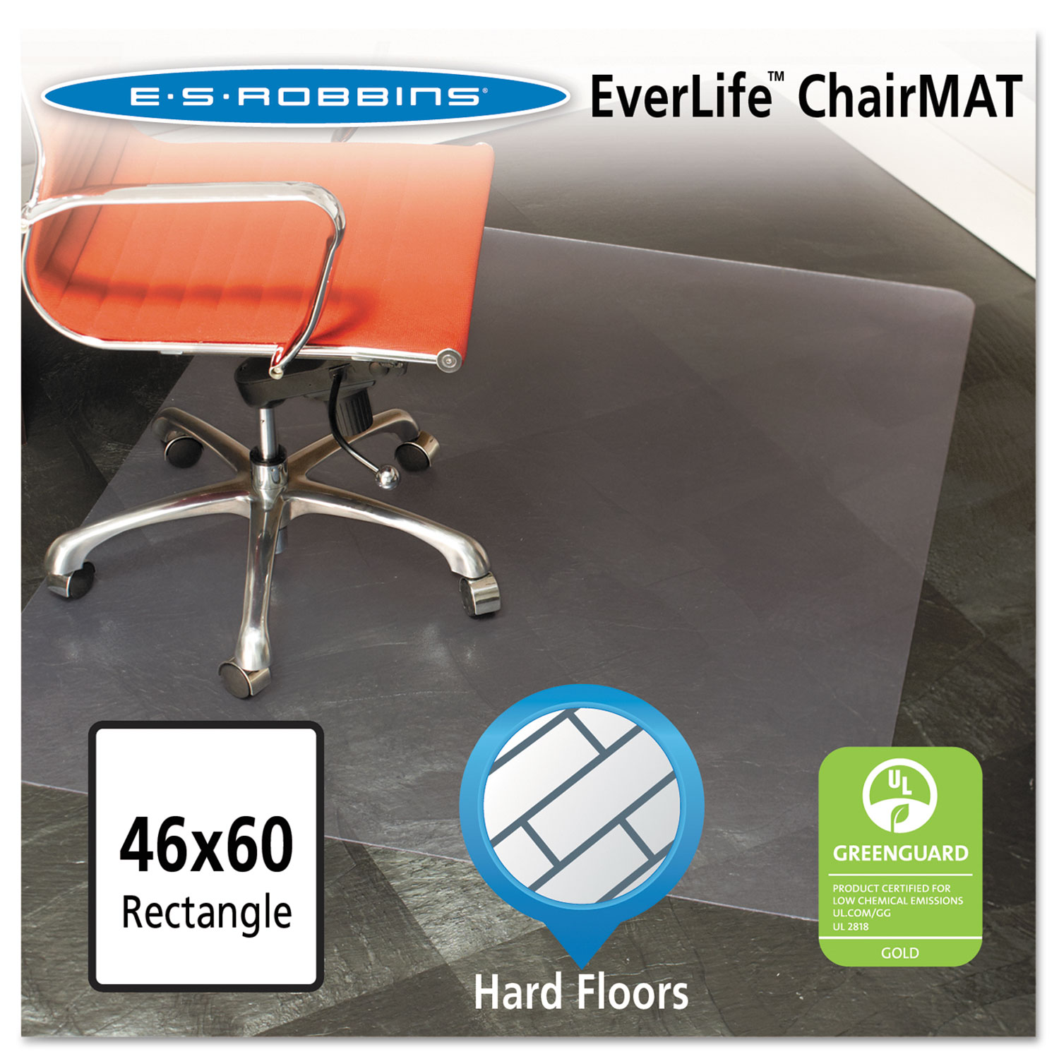 46x60 rectangle chair mat by es robbinsa esr132321
