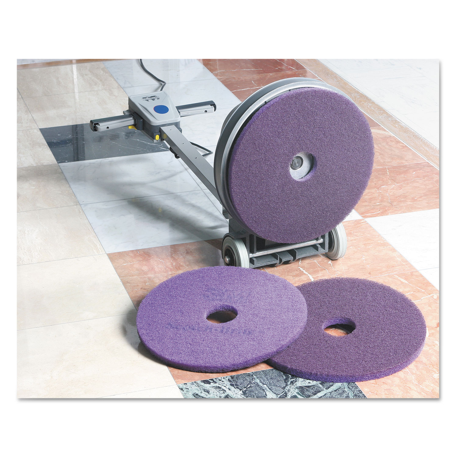 Diamond Floor Pads By Scotch Brite Mmm23894