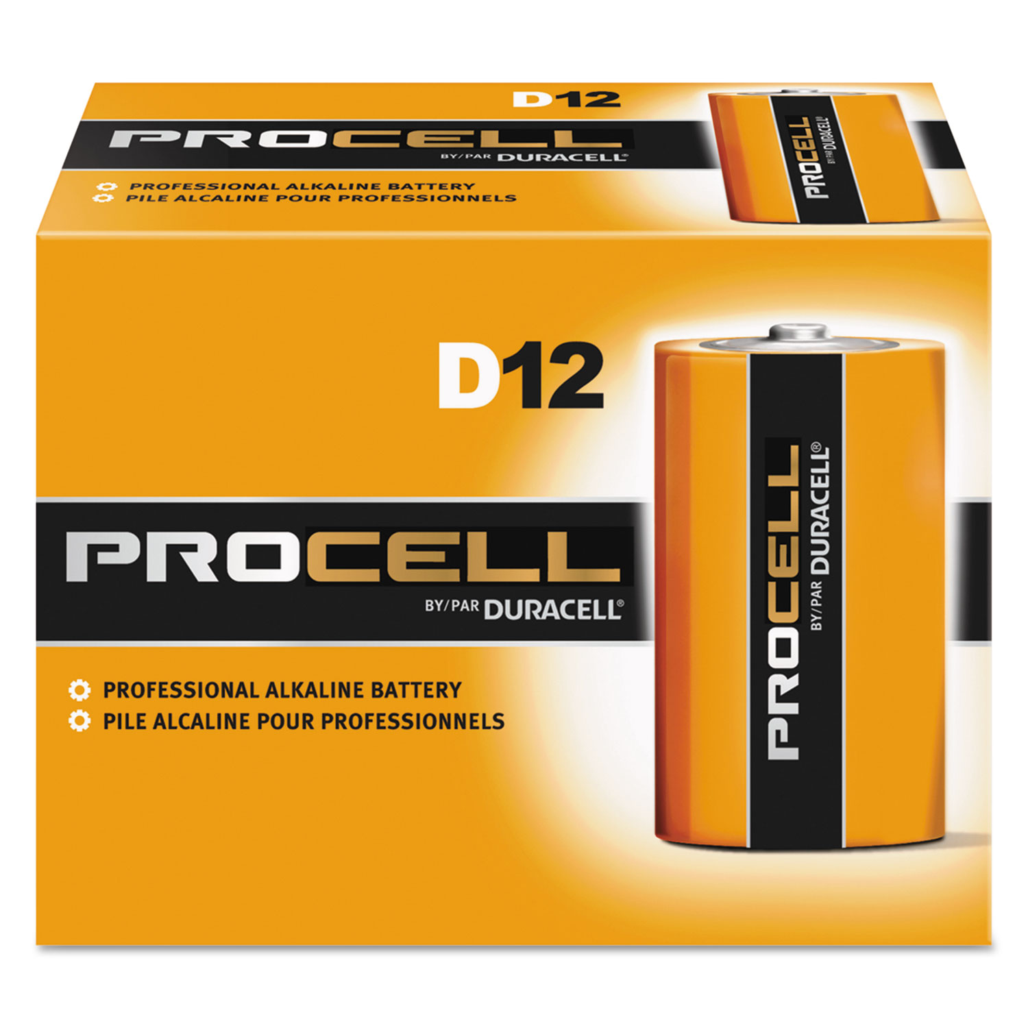 Procell Alkaline Batteries By Duracell 174 Durpc1300