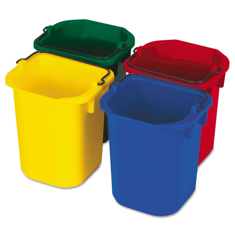 5-Quart Disinfecting Utility Pail, 4 Colors