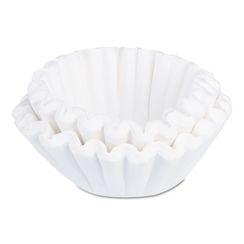 Flat bottom funnel shaped filters by bunn bunu nb cs