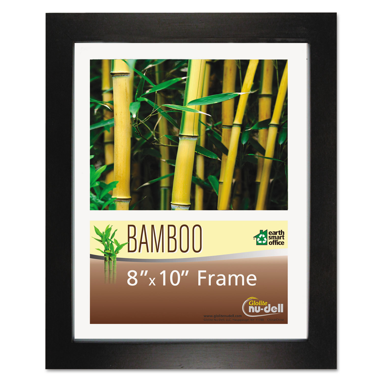 Bamboo Frame, 8 x 10, Black