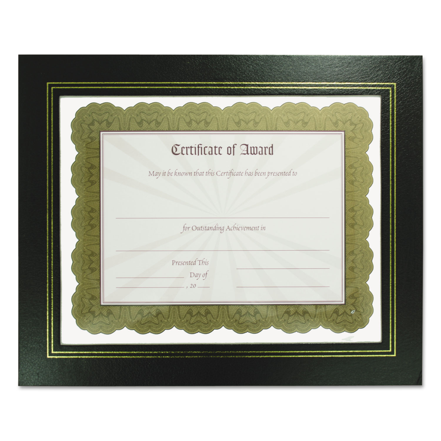 Leatherette Document Frame by NuDell™ NUD21202 - OnTimeSupplies.com