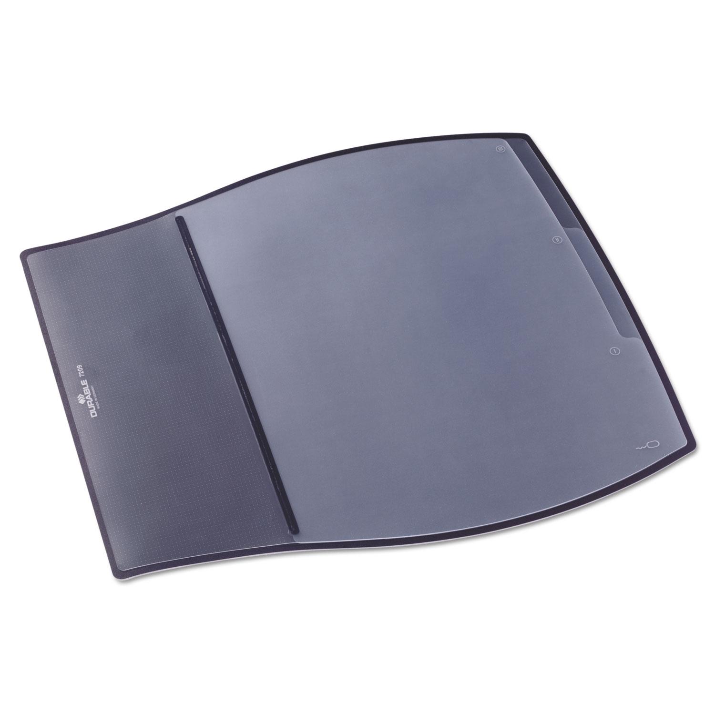 Work Pad, 3 Overlays, 17 1/4 x 15 1/2, Black