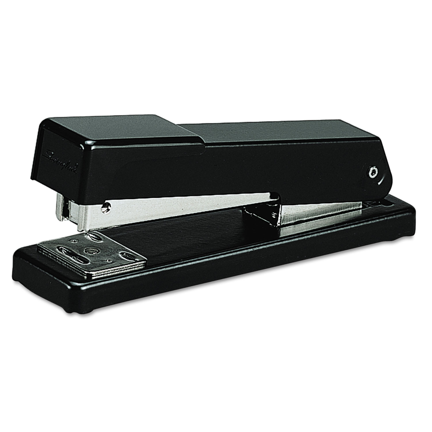 Compact Desk Stapler, 20-Sheet Capacity, Black