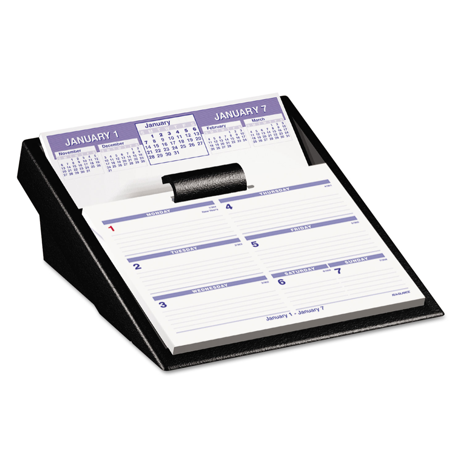 Flip A Week Desk Calendar And Base By At A Glance