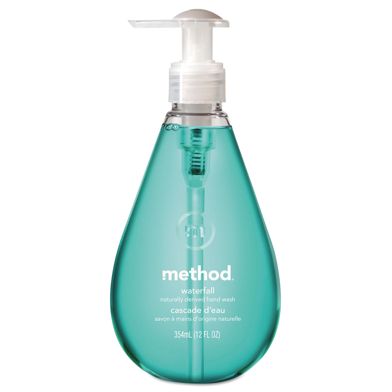 Gel Hand Wash, Waterfall, 12 oz Pump Bottle