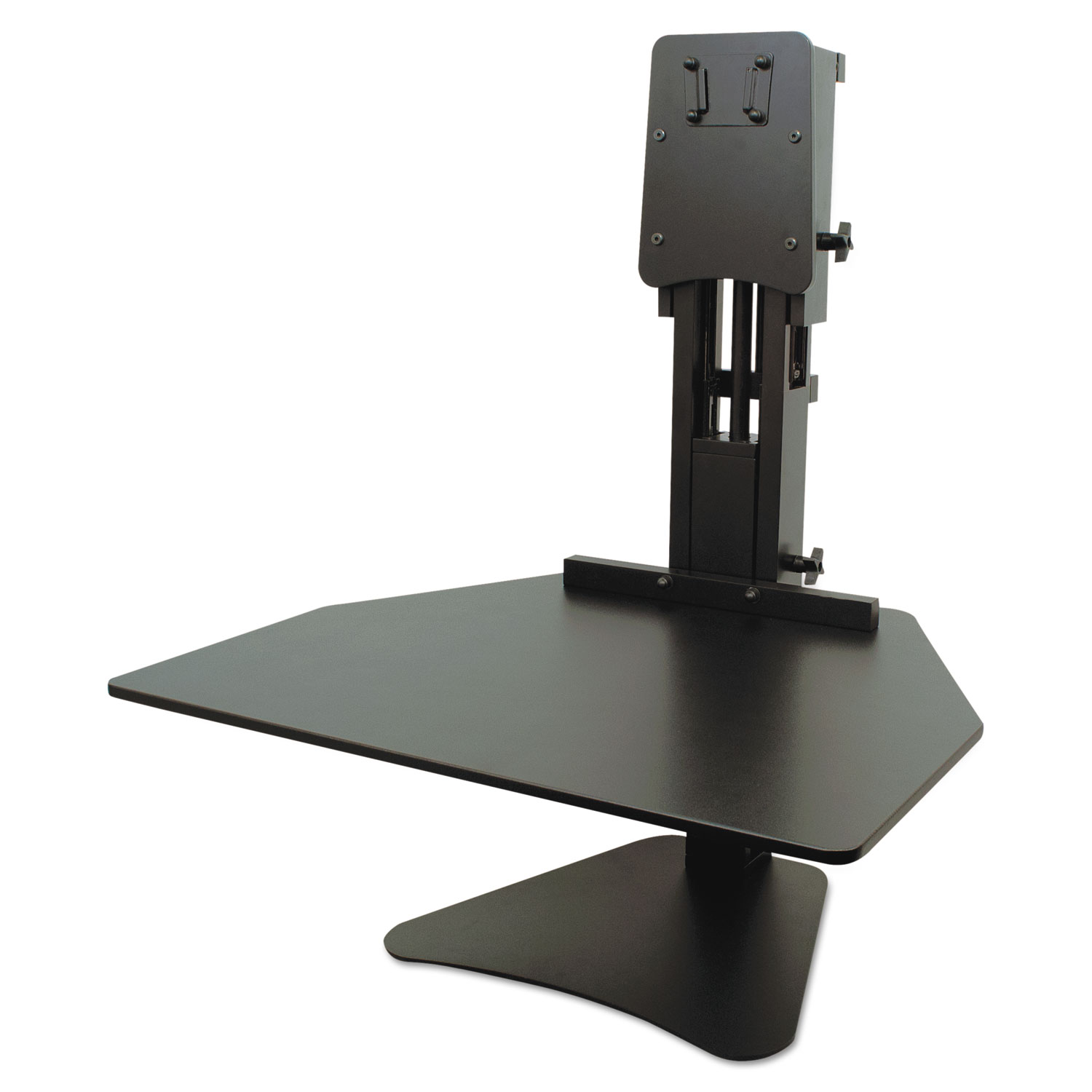 High Rise Adjustable Sit Stand Workstation by Victor VCTDC