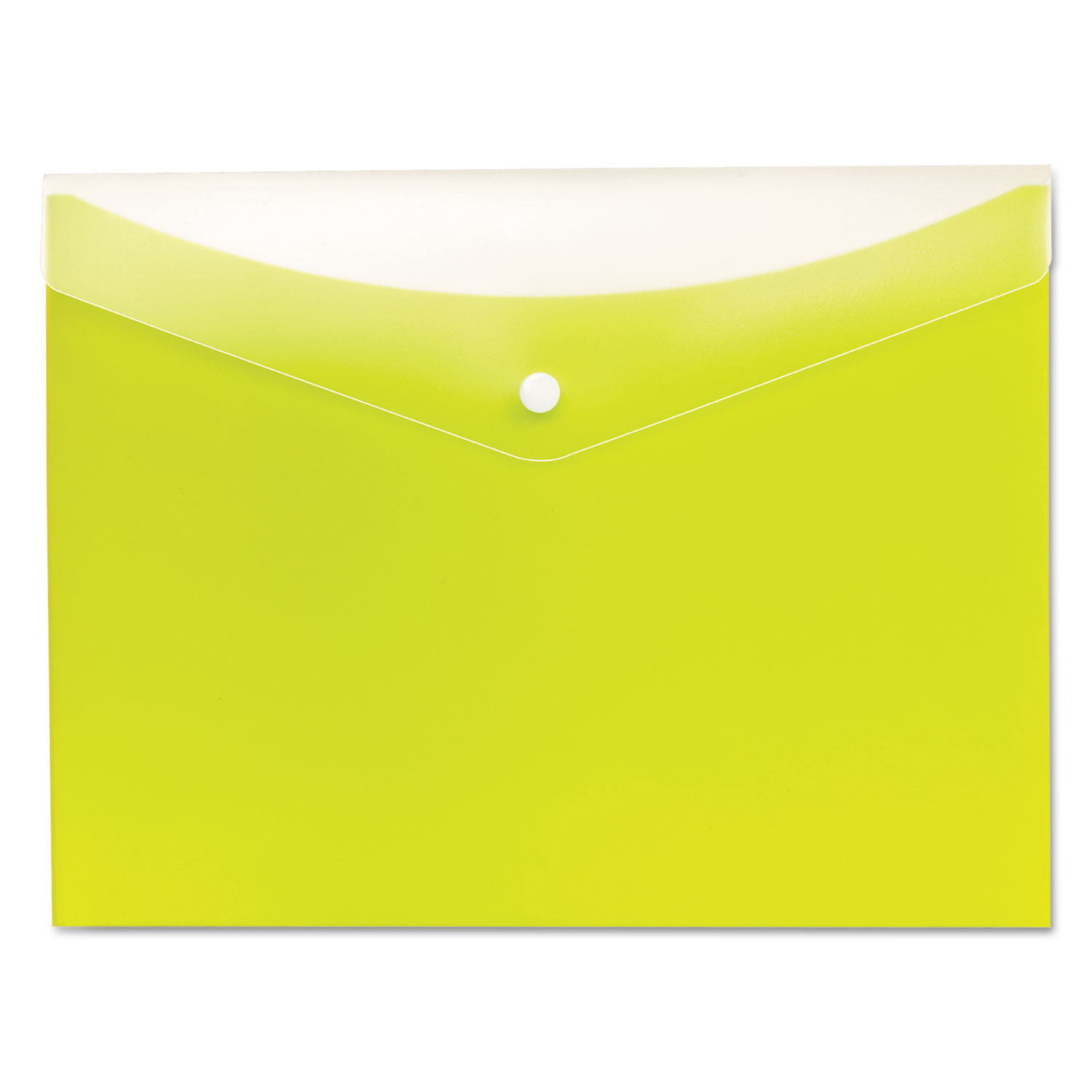 Letter Size Pendaflex Poly Snap Envelope Grape