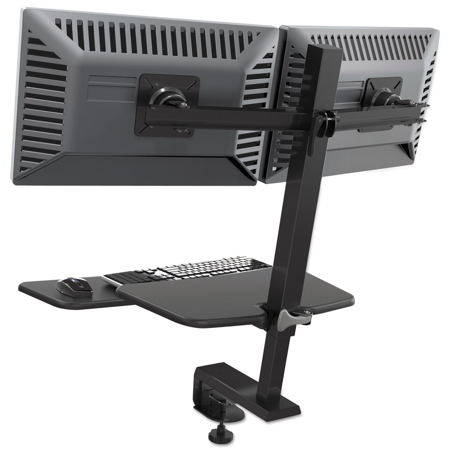 Up Rite Desk Mounted Sit Stand Workstation By Balt