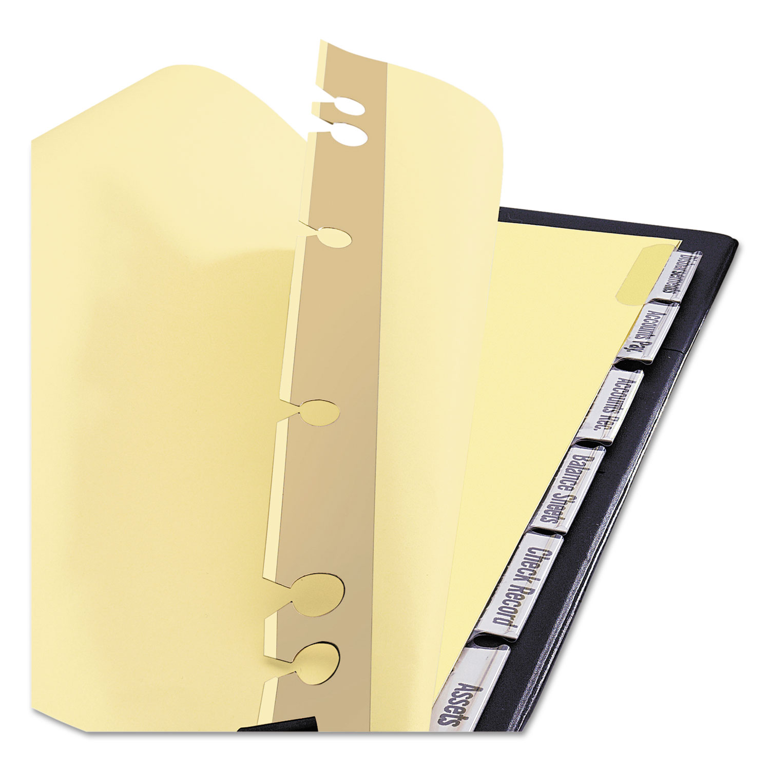 Post Binder Insertable Tab Dividers By Avery® AVE11644