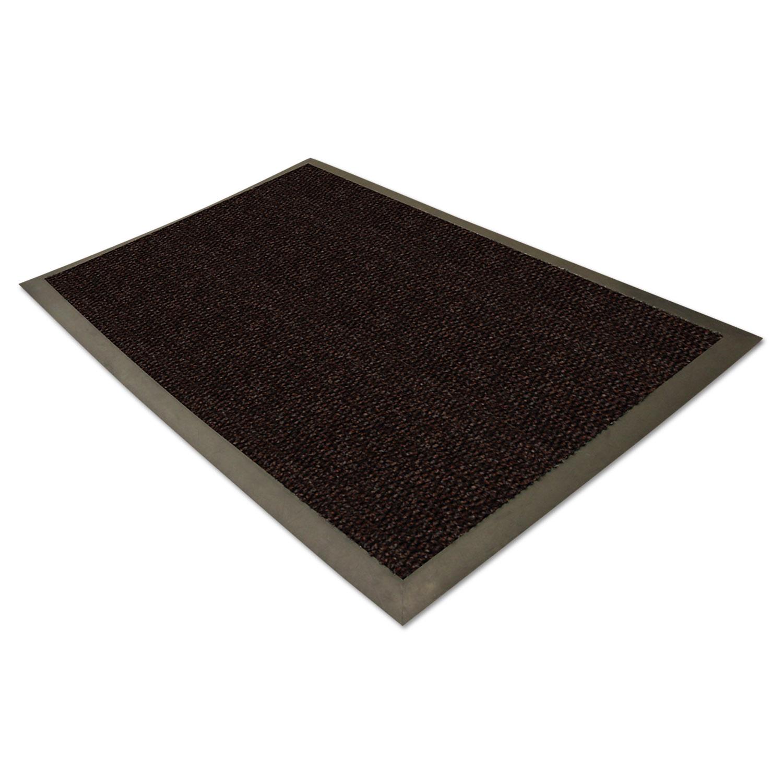 EliteGuard Indoor/Outdoor Floor Mat, 36 x 60, Chocolate ...