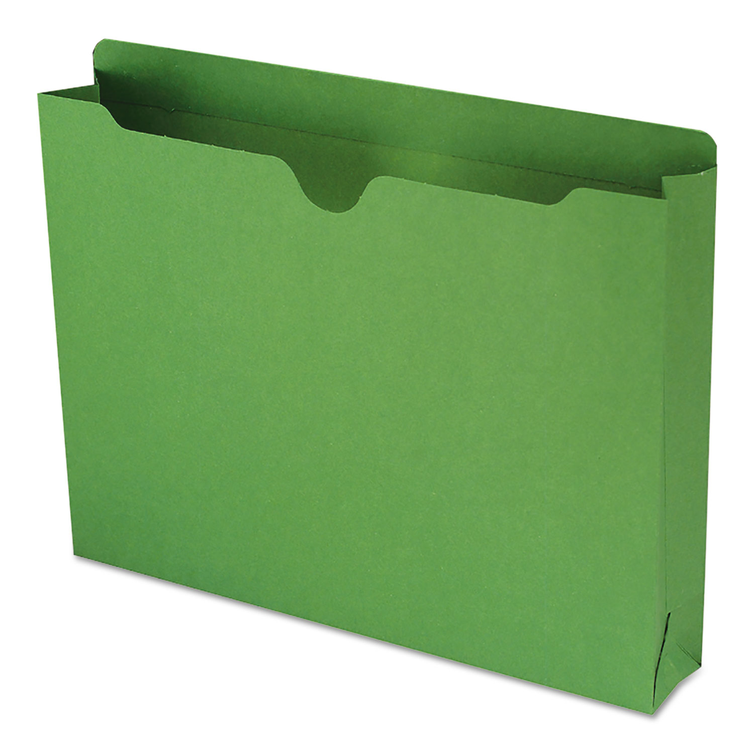 19a1b14c7ab Smead Colored File Jackets w Reinforced 2-Ply Tab, Letter, 11pt, Green,  50 Box