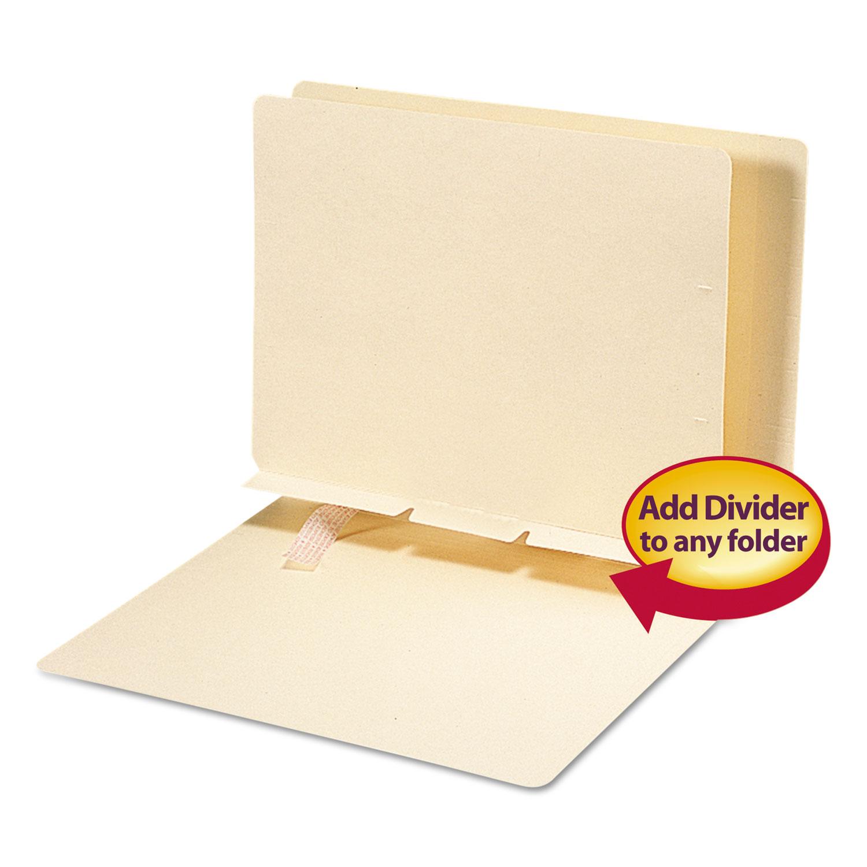 SMD68027 Smead Manila Self-Adhesive End//Top Tab Folder Dividers