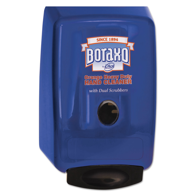 "2L Dispenser for Heavy Duty Hand Cleaner, 10.49"" x 4.98"" x 6.75"", Blue"