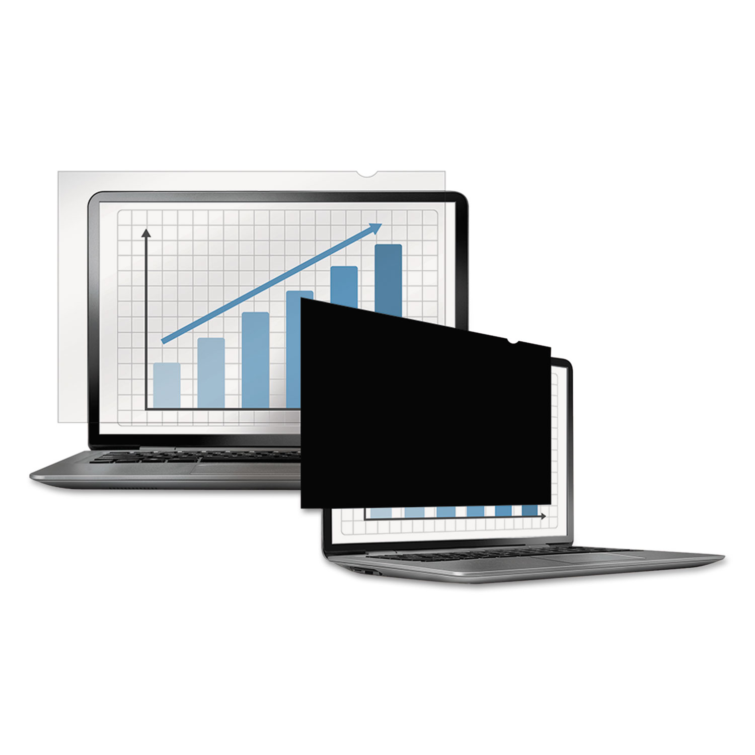 """PrivaScreen Blackout Privacy Filter for 14"""" Widescreen LCD/Notebook, 16:9"""