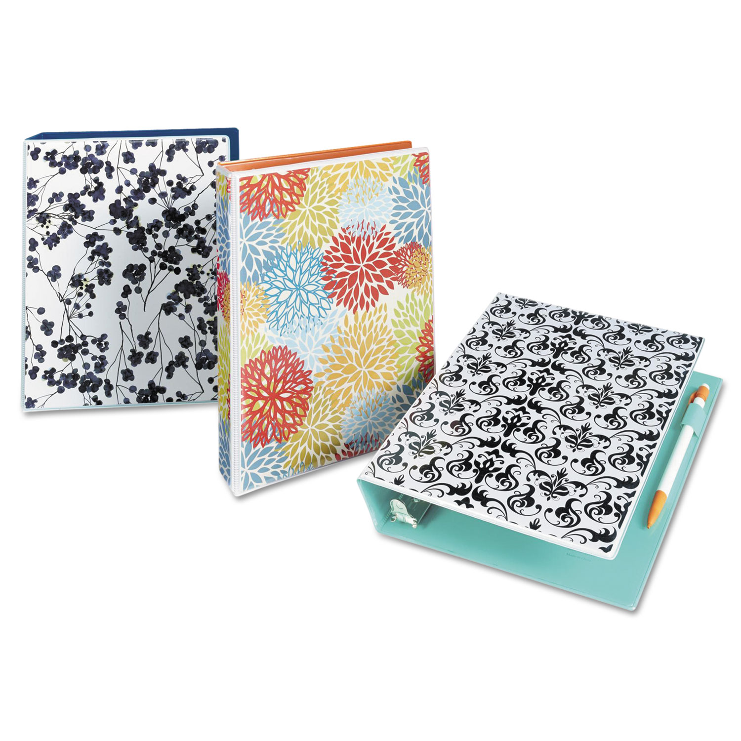 Look At Durable Mini Size Non-View Fashion Binder With