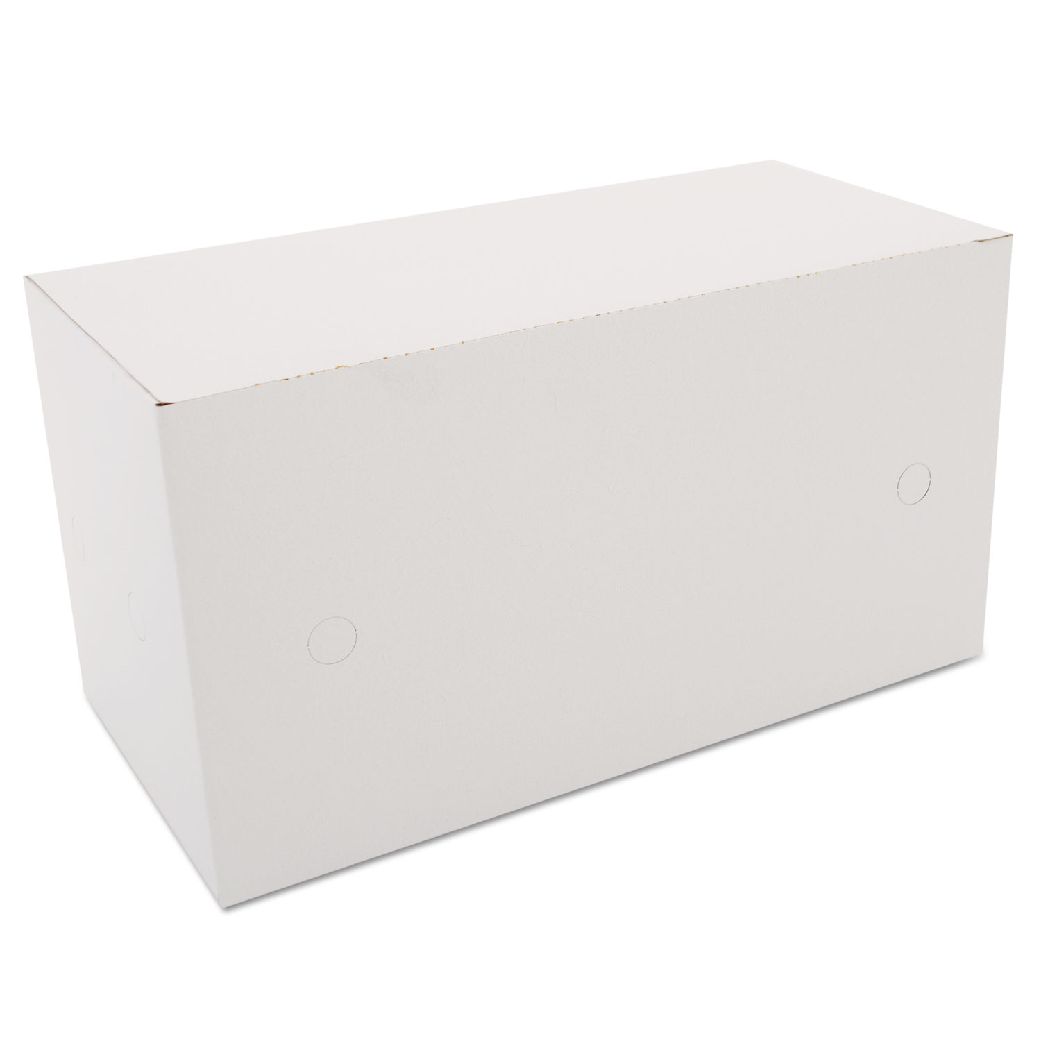 Sausage and Meat-Patty Boxes, 1-Compartment, 10 x 5 x 5 3/8, White, 200/Bundle