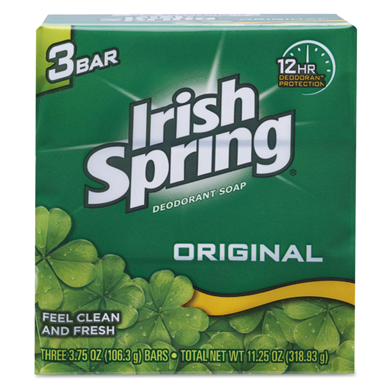 Bar Soap, Clean Fresh Scent, 3.75oz, 3 Bars/Pack, 18 Packs/Carton