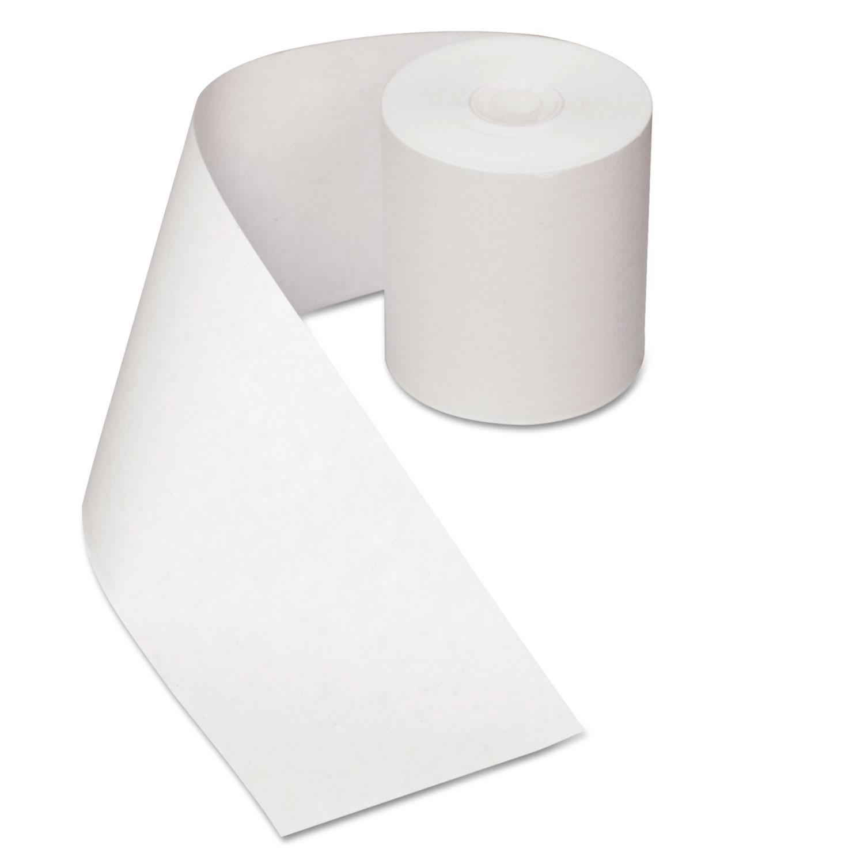 Heat Sensitive Register Rolls, 3 1/8 x 200 ft, 1 Ply, White, 30 Rolls/Carton