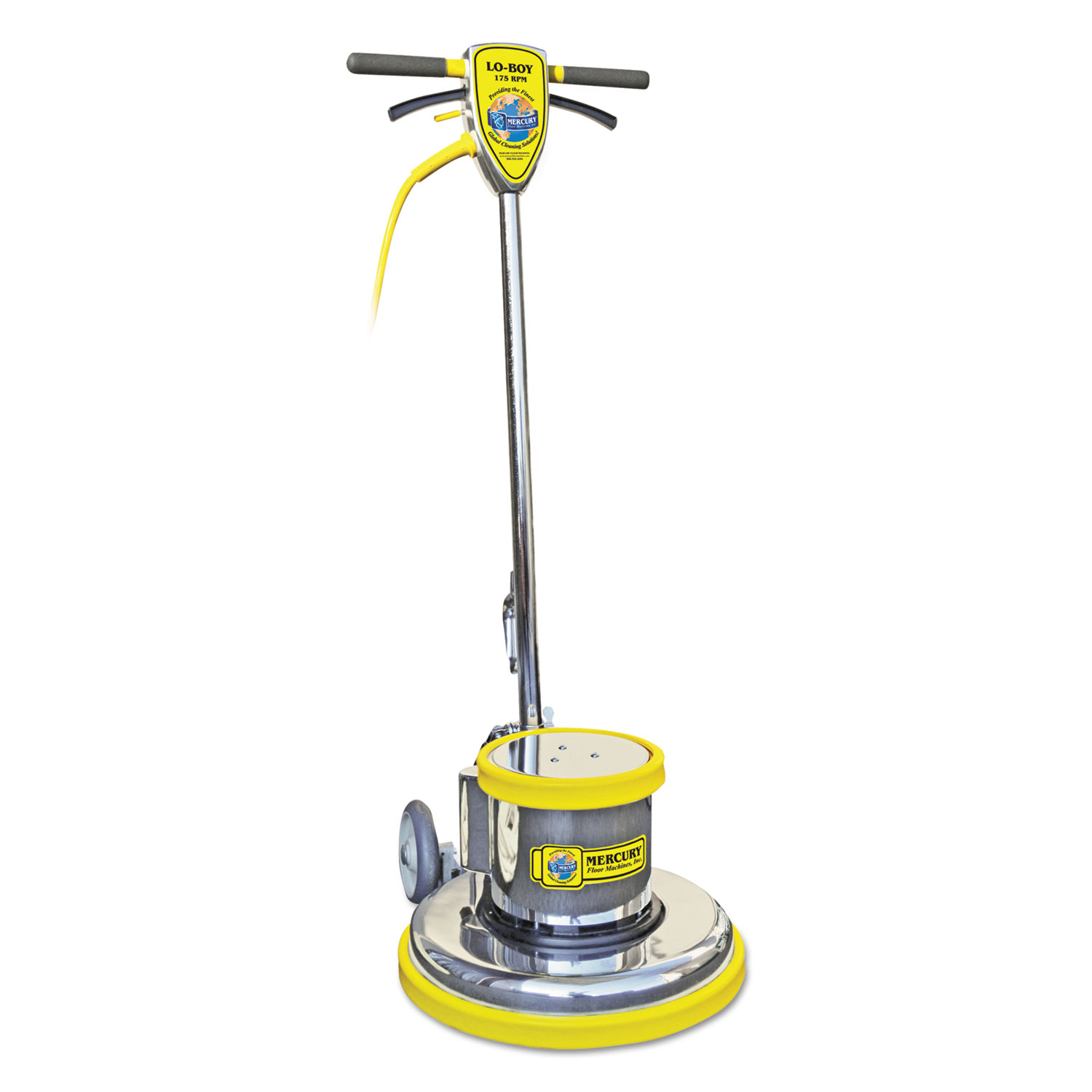 PRO-175-15 Floor Machine, 1.5 HP, 175 RPM, 14 Brush Diameter