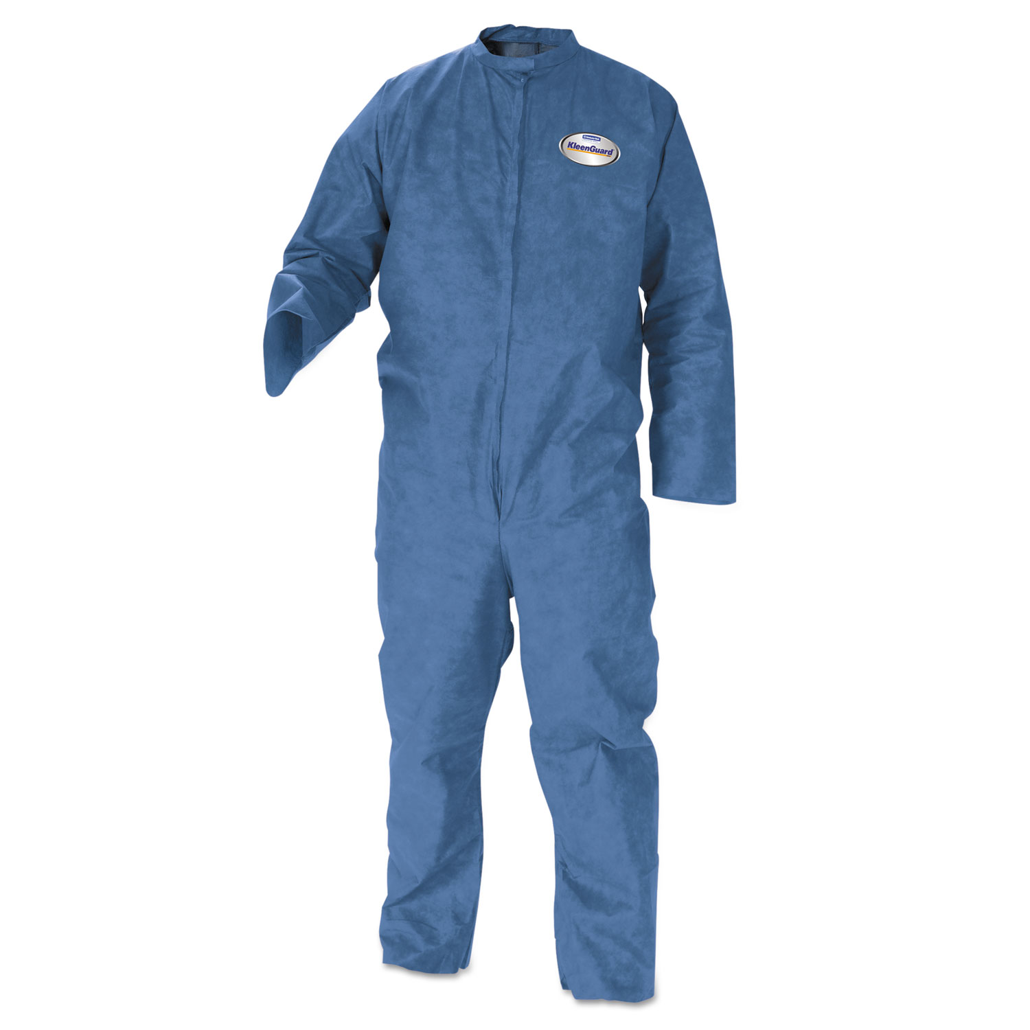A20 Coveralls, MICROFORCE Barrier SMS Fabric, Blue, X-Large, 24/Carton