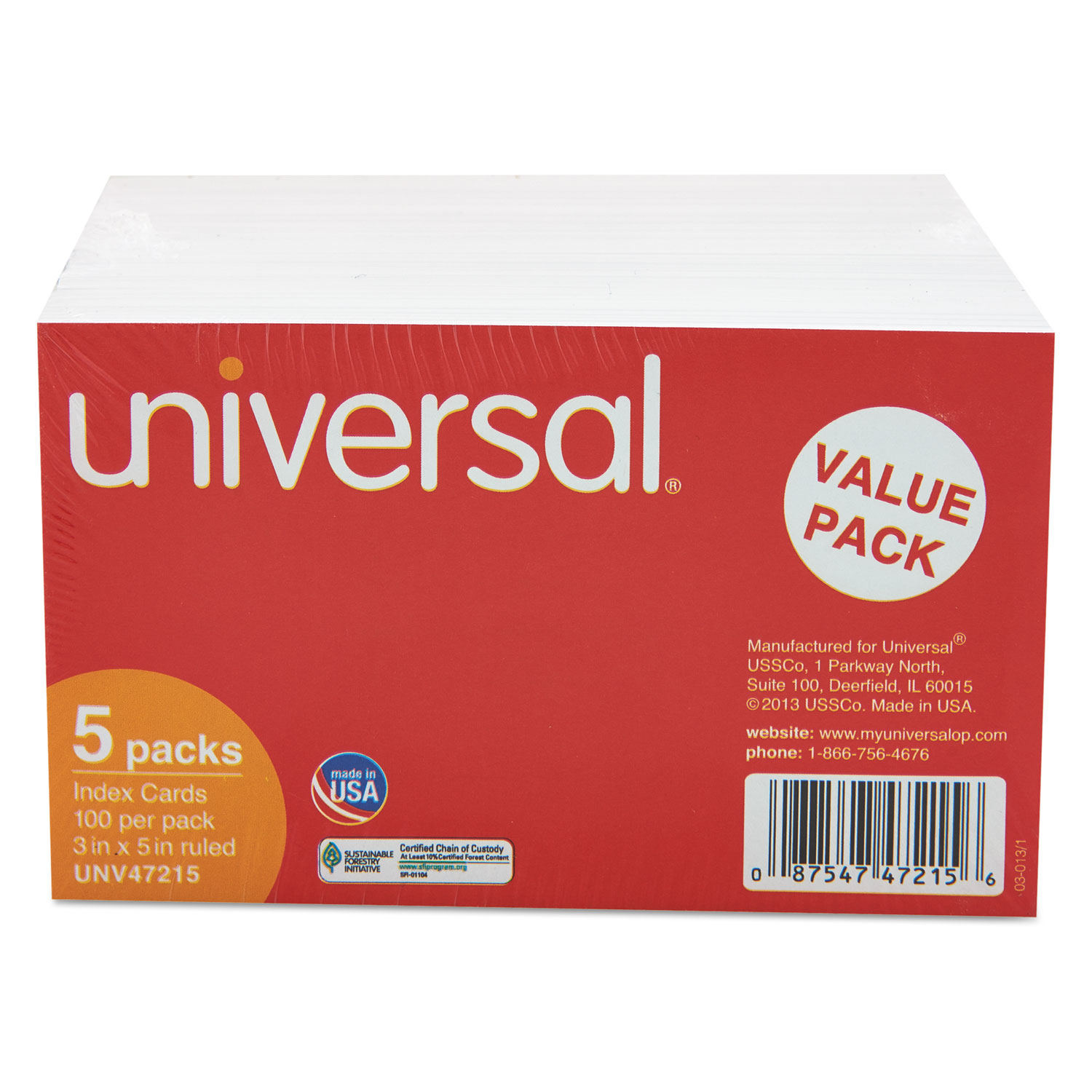 ruled index cards by universalunv ontimesupplies