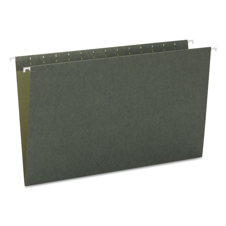 Hanging Folders, Legal Size, Standard Green, 25/Box