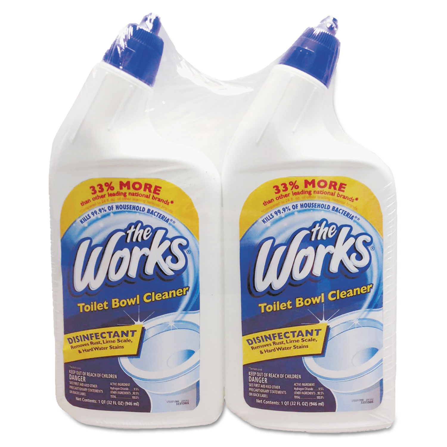 Disinfectant Toilet Bowl Cleaner By The Works 174 Kik33302wk