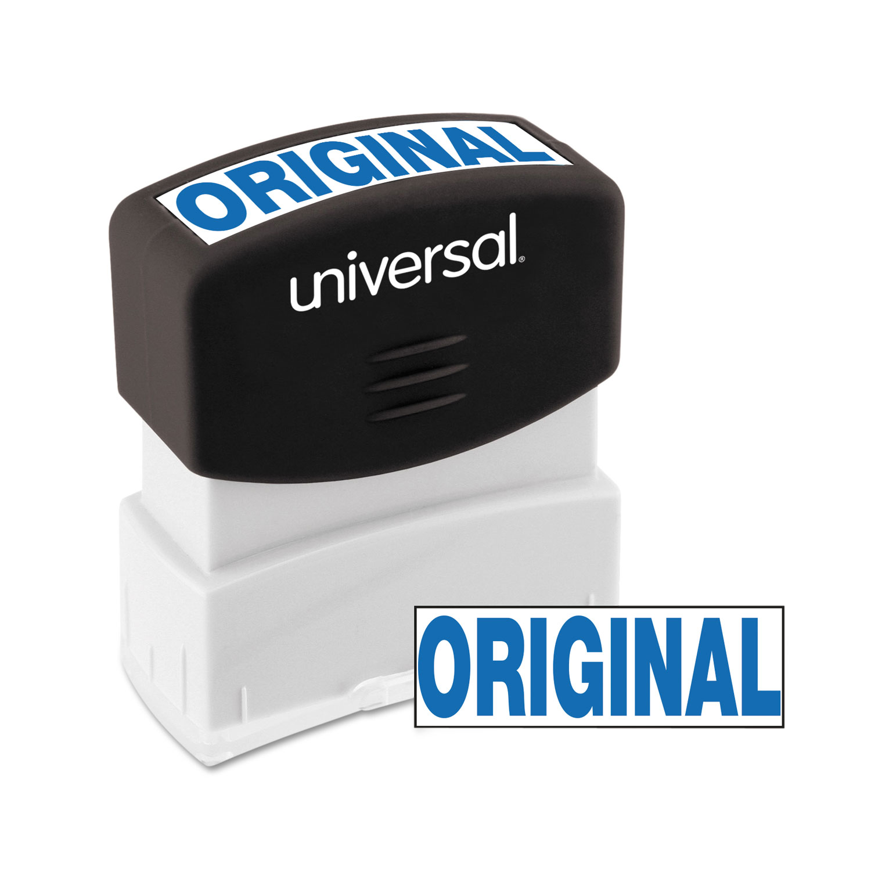 Message Stamp, ORIGINAL, Pre-Inked One-Color, Blue