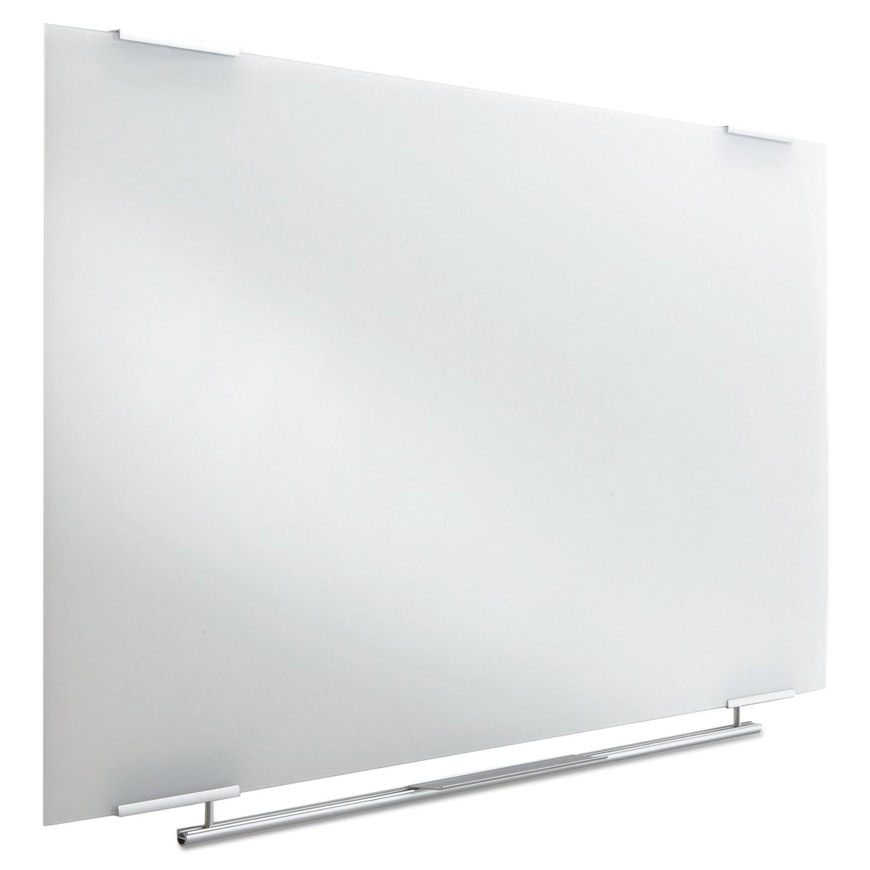 clarity glass dry erase boards frameless 48 x 36 ice31140 thumbnail 1 ice31140 thumbnail 2 ice31140 thumbnail 3 ice31140 thumbnail 4 - Glass Dry Erase Board