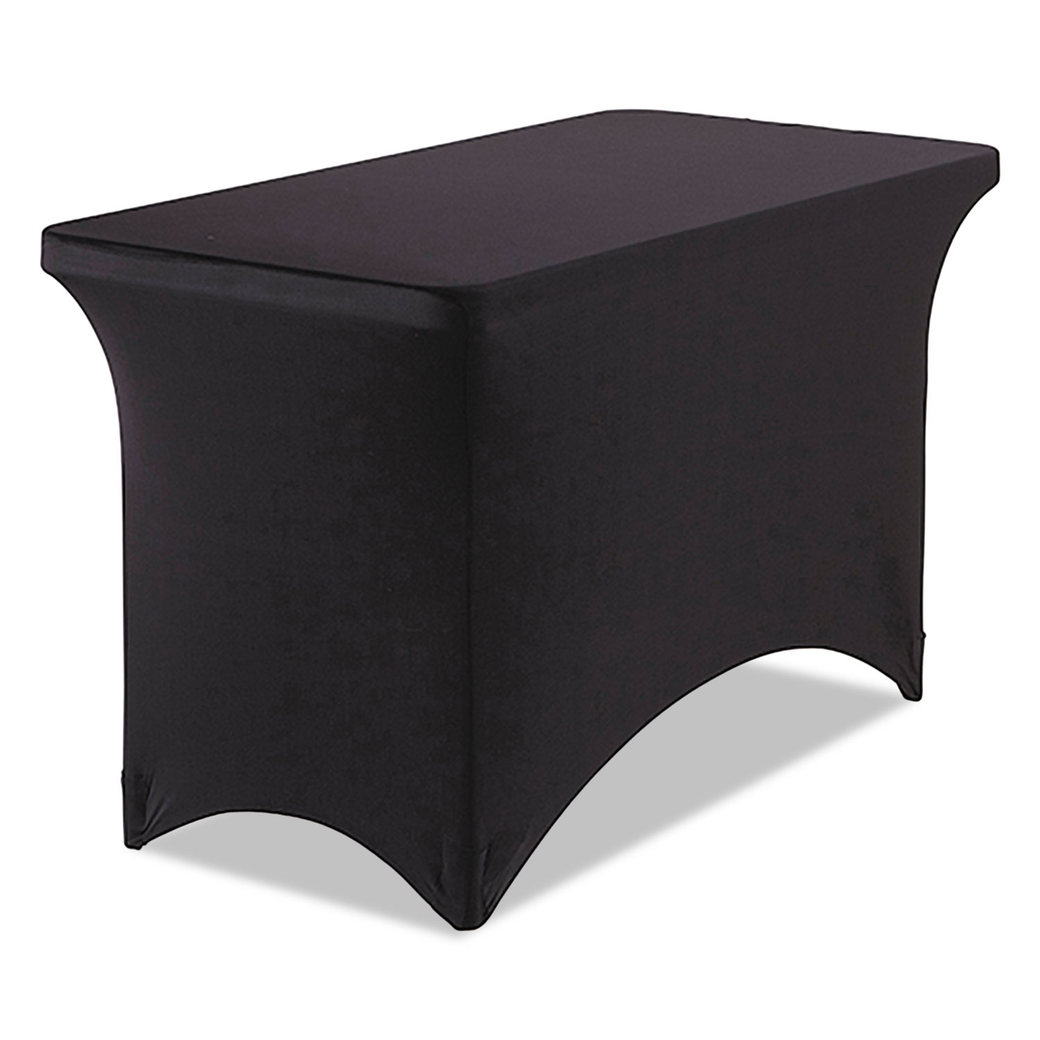 Stretch-Fabric Table Cover, Polyester/Spandex, 24
