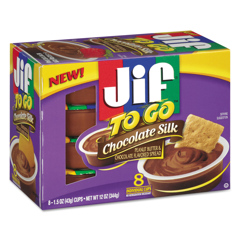 Spreads, Chocolate Silk, 1.5 oz Cup, 8/Box