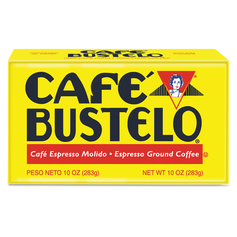 Coffee, Espresso, 10 oz Brick Pack, 24/Carton