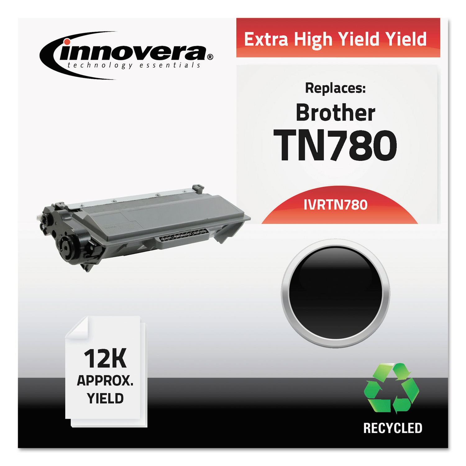 Remanufactured TN780 High-Yield Toner, 12000 Page-Yield, Black