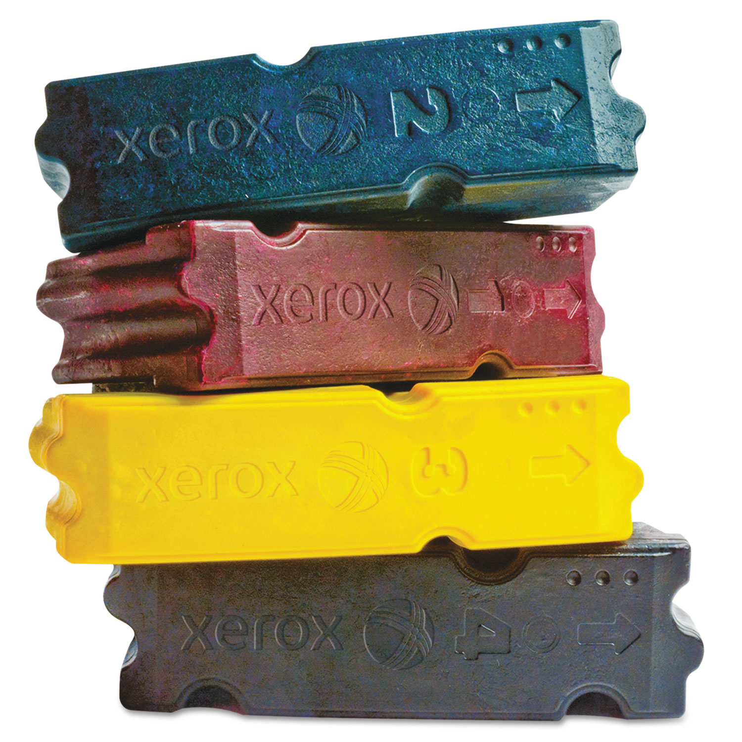 108R00831 Solid Ink Stick, 37000 Page-Yield, Yellow, 4/Box