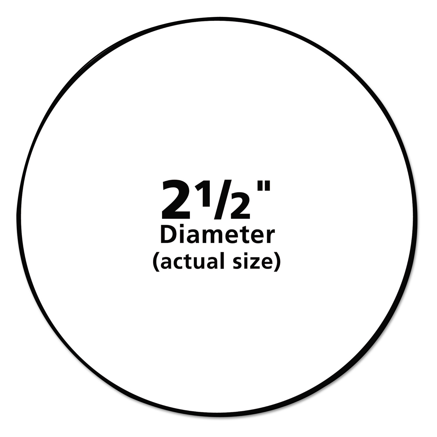 This is a picture of Dramatic 1 1 4 Inch Round Labels Template Free