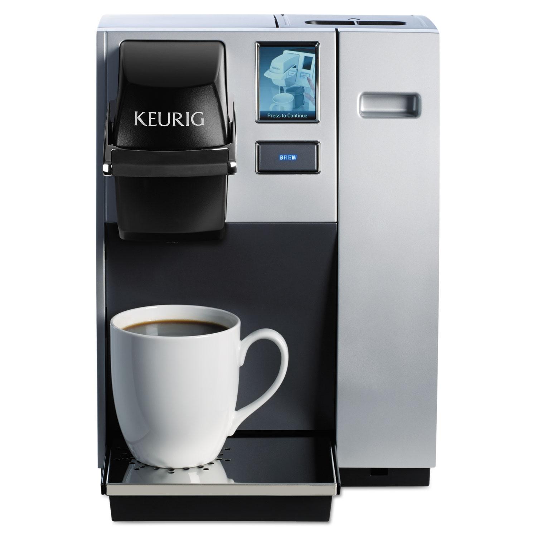 K150 Brewing System, Silver/Black, 10.4″W X 14″D X 13.9″H
