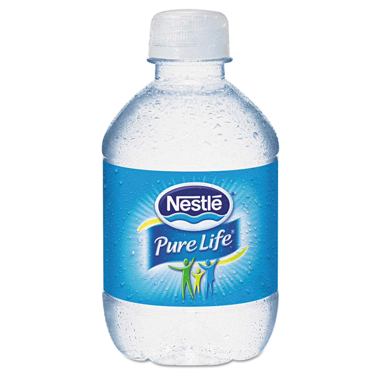 Pure Life Purified Water, 8 oz Bottle, No Dep, 48/Carton, 2880/Pallet