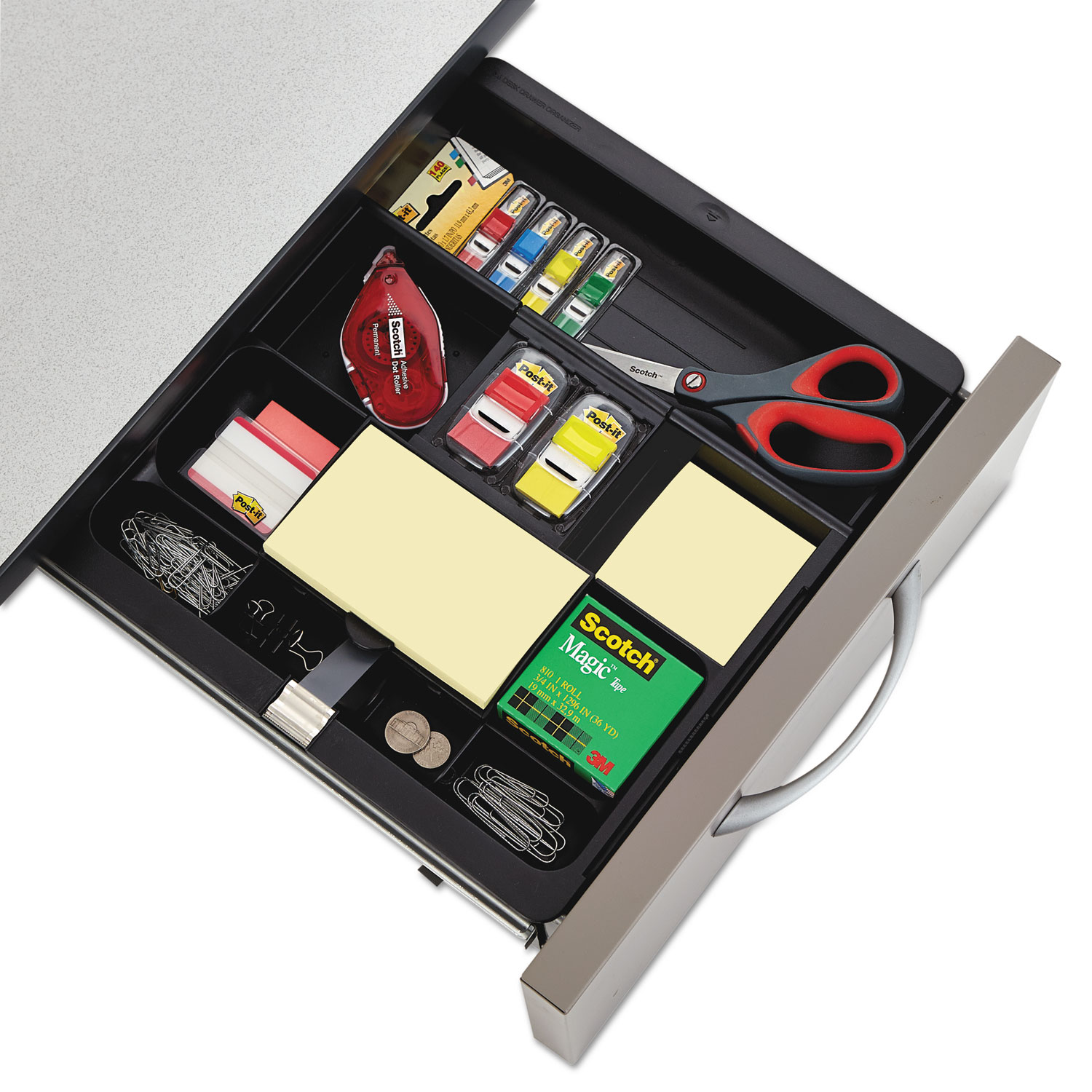 Recycled Plastic Desk Drawer Organizer Tray By Post It